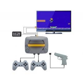 Consola de jocuri video retro, super-8bit-game, cu 2 joystick-uri + 1 arma...