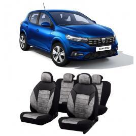 Huse scaune auto material Textil  dedicate Dacia Sandero 2020-2021 Premium
