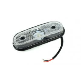 Lampa remorca laterala lumina alba  LED 12-24V