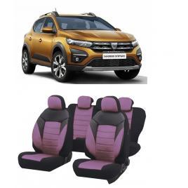 Set huse scaune auto dedicate Dacia Sandero Stepway 2020-2021 Premium