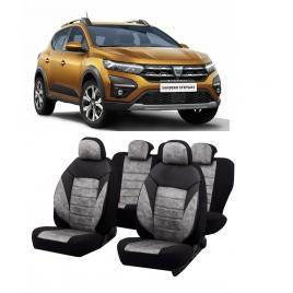 Set huse scaune auto dedicate Dacia Sandero Stepway-2020-2021