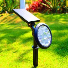 Lampa solara tip - Proiector cu 9 leduri, lumina RGB
