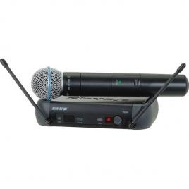 Microfon profesional wireless cu cu receptor, shure pgx24e/beta58-j6