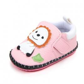 Pantofiori fetite - leul si iepurasul (marime disponibila: 6-12 luni (marimea...