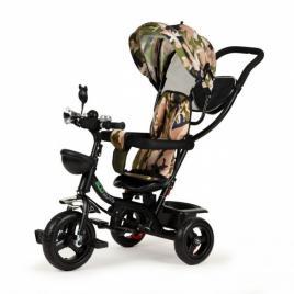 Tricicleta cu sezut rotativ ecotoys jm-066-9 - camuflaj