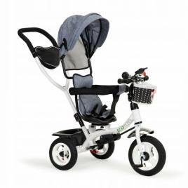 Tricicleta cu sezut rotativ ecotoys jm-066-9l - gri