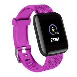 Ceas Smartwatch D13 Mov, Ecran LCD 1.3inch, Bluetooth 4.0, Compatibil Android & IOS, Unisex, Rezistent La Apa