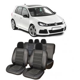 Huse scaune auto  Alcantara  dedicate VW Golf 5