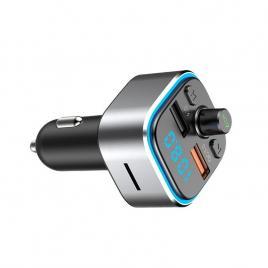 Modulator FM  T32, Wireless, Bluetooth 5.0, Microfon Integrat, Quick Charge 3.0, Slot MicroSD, Ambient Light