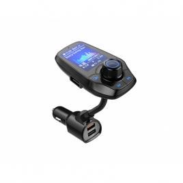 Modulator FM T26D, Ecran LCD, Wireless, Bluetooth 4.2, Microfon Integrat, Quick Charge 3.0, Slot MicroSD, AUX IN/OUT