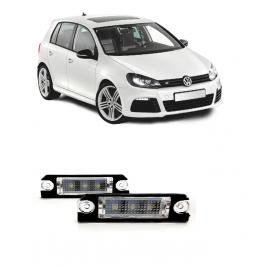 Set 2 Lampi LED numar dedicate VW Golf 5 2005 - 2009