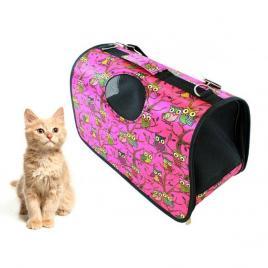 Geanta de Transport pentru Caine sau Pisica ROZ