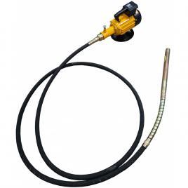 Vibrator beton MVE-2 STRONG cu ax flexibil de imersie MVS de 6m cu cap de vibrare 38mm si alimentare 230V