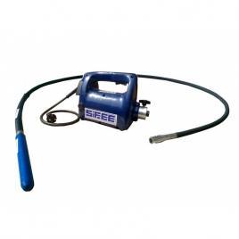 Vibrator beton SIFEE cu ax flexibil de 3m si cap vibrare 58mm, tensiune de alimentare 230V