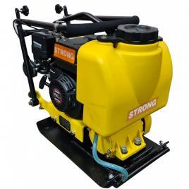 Placa compactoare MS60-2 STRONG, motor LONCIN, putere 5,5CP, greutate 62kg, cu rezervor apa, roti transport si cauciuc Vulcolan