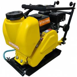 Placa compactoare MS60-2 STRONG, motor LONCIN, putere 5,5CP, greutate 62kg, cu rezervor apa si roti transport