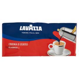Cafea italiana lavazza crema e gusto classico 4 x 250g