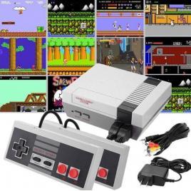 Consola tv de jocuri retro, 2 jucatori, 500 de jocuri