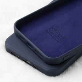 Husa telefon x-level iphone 12 / 12 pro silicon albastra