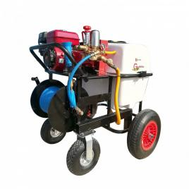 Atomizor cu motor termic Gardelina BSR100, 6.5 CP, 3600 rpm, 100 litri