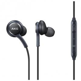 Casti akg cu mufa jack 3,5mm si microfon negre