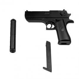 Pistol Airsoft Metalic Arc Spring, Cu Amortizor K-111S +200 de bile DGM-032