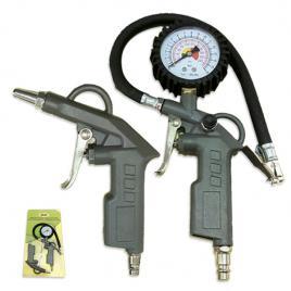 Pistol  de AER + pistol pentru  UMFLAT PNEURI