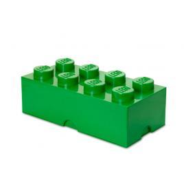 Cutie depozitare lego 2x4 verde închis