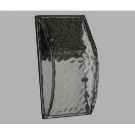 Lampa pentru perete, incarcare led , din sticla transparenta