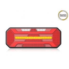 Lampa stop camion LED cu semnalizare dinamica  DREAPTA 12-24V Omologata U.E