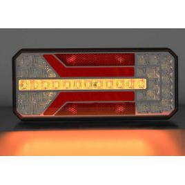 Lampa stop camion LED cu semnalizare dinamica 12-24V  Omologata U.E.