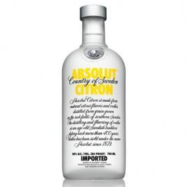 Absolut citron vodka, 0.7l