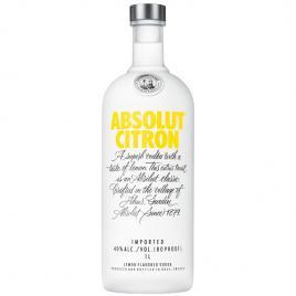 Absolut citron vodka, 1l