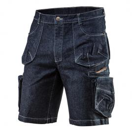 Pantaloni scurti de lucru denim nr.m/50 neo tools 81-279-m
