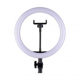 Lampa circulara 12 inch cu trepied, 3 faze lumina