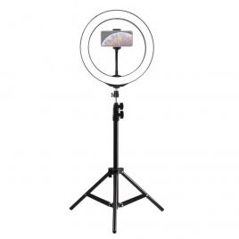 Lampa circulara 22 inch cu trepied, 3 faze lumina