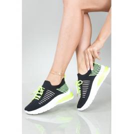 Adidasi Dama NeonStripes One Negru