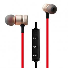 Casti audio bluetooth sport, stereo, suport magnetic