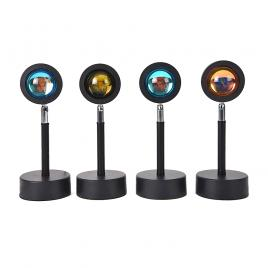 Lampa cu lupa videografie efect apus, rasarit sau curcubeu