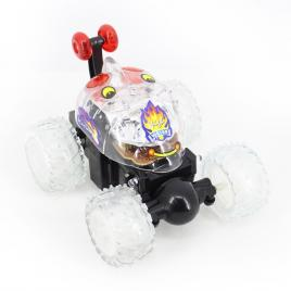 Masina acrobatica cu telecomanda si lumini - Crazy Car