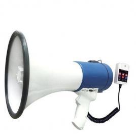 Megafon portavoce portabil 50 watt, citire de pe stick usb / sd card si inregistrare