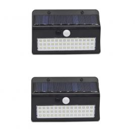 Set 2 lampi led solare cu senzor miscare, xf 6011