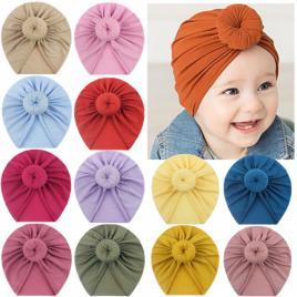Caciulita tip turban in diverse culori (marime disponibila: 3-6 luni (marimea...