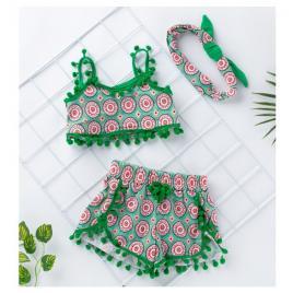 Costumas de vara pentru fetite - lully (marime disponibila: 9-12 luni (marimea...