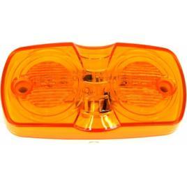 Lampa SMD 4002-2 Lumina portocalie Voltaj 12V Rezistenta la apa IP66 ManiaCars