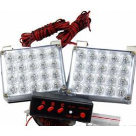 Lampa led stroboscopica lumina portocalie 24v cod 51028 / 5128 maniacars