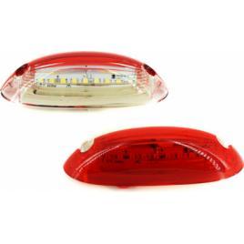 Lampa numar LED 24V Lumina alba/rosie Cod GN21 ManiaCars