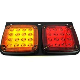 Lampa stop SMD 2001AL stanga Voltaj 12V-24V Nr. led-uri 32 SMD Rezistenta la apa IP66 ManiaCars