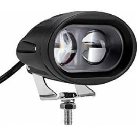 Proiector LED CH059 6D 20W 12/24V SPOT BEAM 30 and deg geam transparent ManiaCars