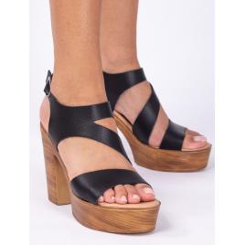 Sandale Dama Negru Dep